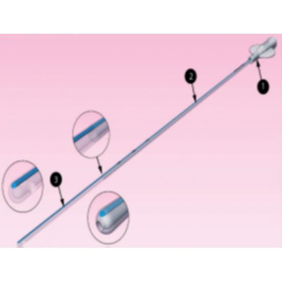 AINSEBLUE Катетер для внутриматочного осеменения с гибким дистальным кончиком