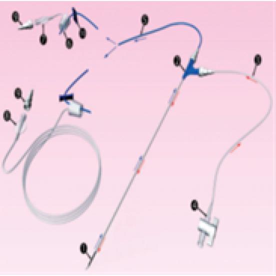 BIMONOCYTE-N Игла для захвата яйцеклетки и промывки фолликулов - 17G x 330 мм (длинное соединение)