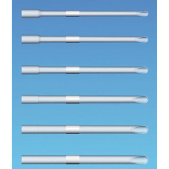 INTRACURETTE RR Жесткая прямая внутриматочная аспирационная кюретка - длина 18,5 cм, внешний ø 12 мм