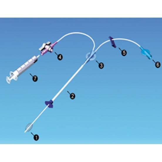 SOFTINJECTOR 5 fr инжектор с мягким катетером для гистеросальпингографии матки, внешний Ø 1.67 мм